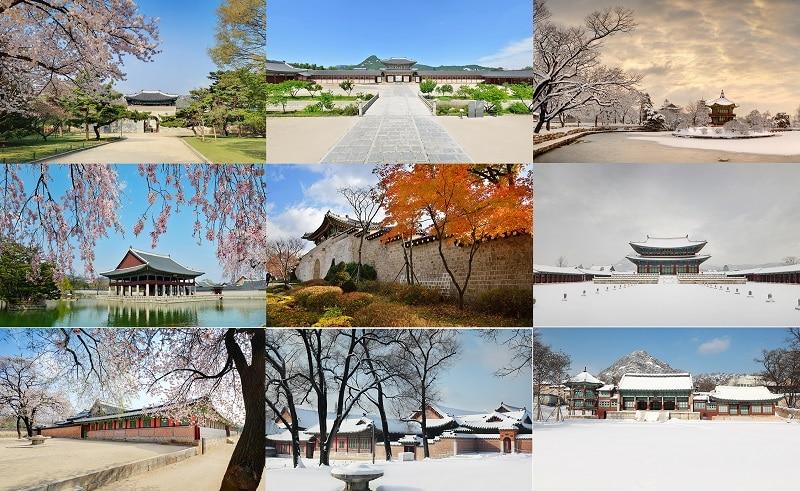Cung điện Gyeongbokgung review, giá vé, giờ mở cửa: Các điểm tham quan ở cung điện Gyeongbokgung