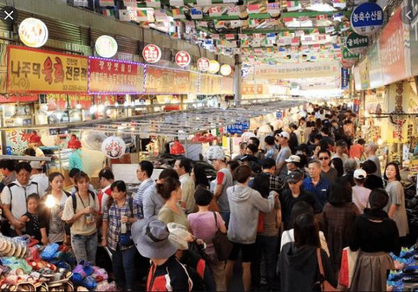 Chợ đêm ở Seoul mở cửa xuyên đêm, Chợ đêm Gwangjang