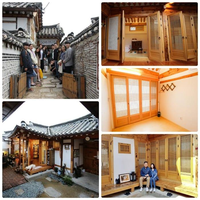 Kinh nghiệm đi làng Bukchon Hanok, đặt phòng hanok ở Bukchon Hanok, Dalzip Bukchon
