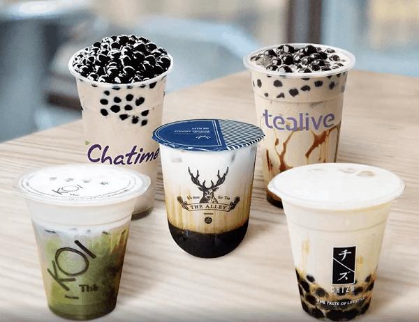 Các quán trà sữa ngon ở Kuala Lumpur