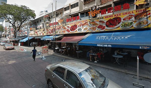 Đi đâu ăn chơi ở Kuala Lumpur? Địa điểm du lịch nổi tiếng ở Kuala Lumpur. Phố ẩm thực Jalan Alor