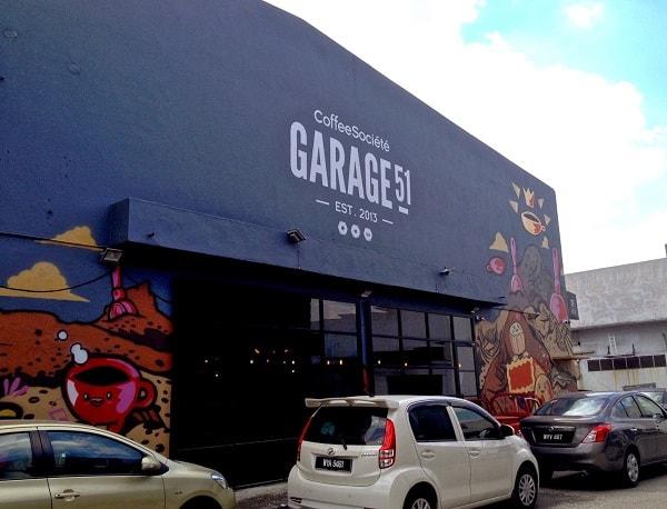Garage 51 - địa chỉ ăn sáng ở Malaysia độc đáo