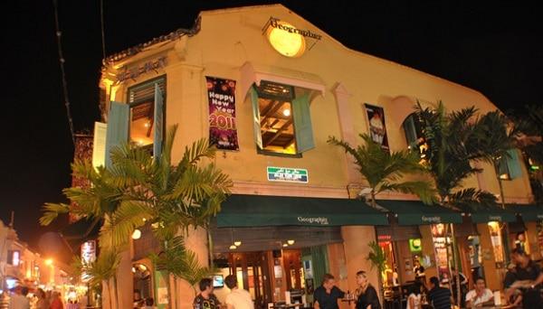 Geographer Cafe - quán cafe đẹp, đông khách ở Malacca