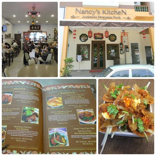 Nancy's Kitchen - quán ăn ở Malacca ngon, nổi tiếng