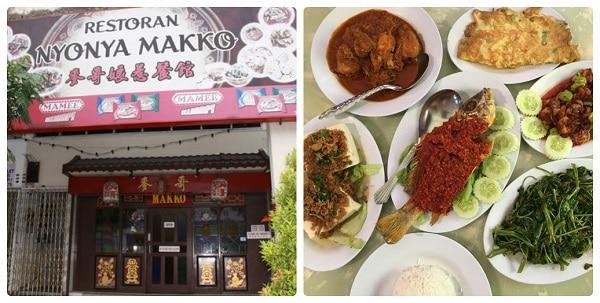 Restaurant Nyonya Makko - nhà hàng sang trọng ở Malacca