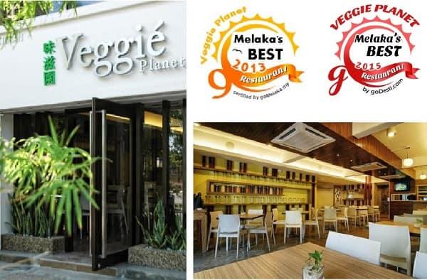 Veggie Planet - nhà hàng chay ngon nhất ở Malacca