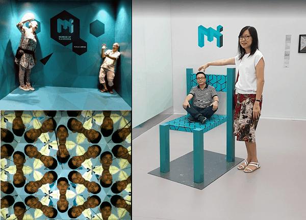 Địa điểm chụp ảnh, check in, sống ảo ở Kuala Lumpur. Bảo tàng ảo giác