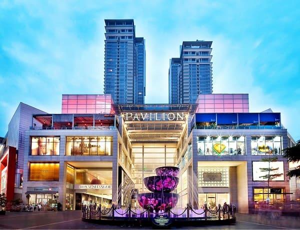 Địa điểm chụp hình đẹp ở Kuala Lumpur, Đài phun nước Liuli Crystal ở Pavillion Mall
