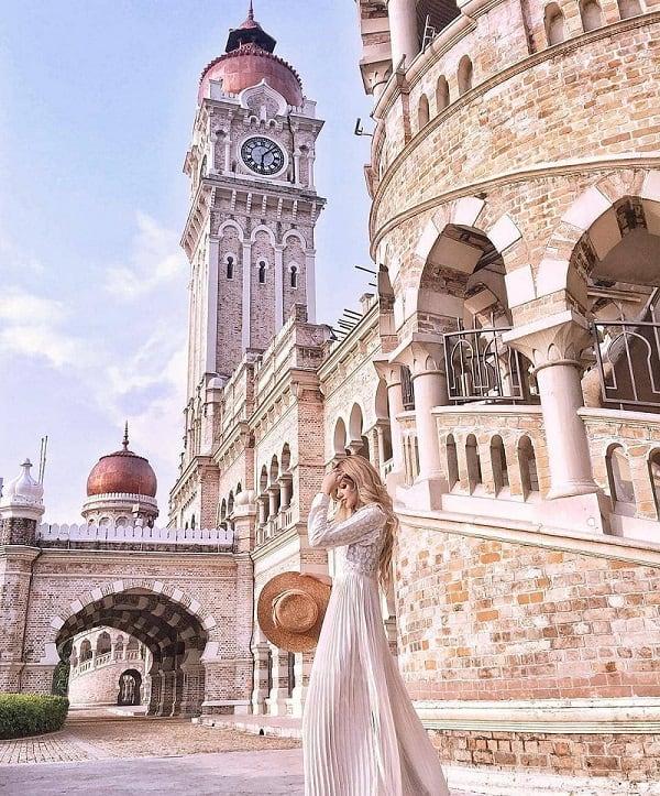 Địa điểm chụp hình đẹp ở Kuala Lumpur, Tòa nhà Sultan Abdul Samad