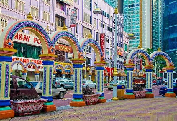 Địa điểm chụp ảnh sống ảo ở Kuala Lumpur, Khu Little India Kuala Lumpur