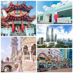 Những địa điểm chụp hình đẹp để sống ảo ở Kuala Lumpur