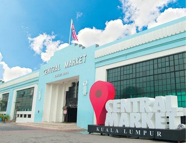 Địa điểm chụp ảnh đẹp ở Kuala Lumpur, bên ngoài Central Market