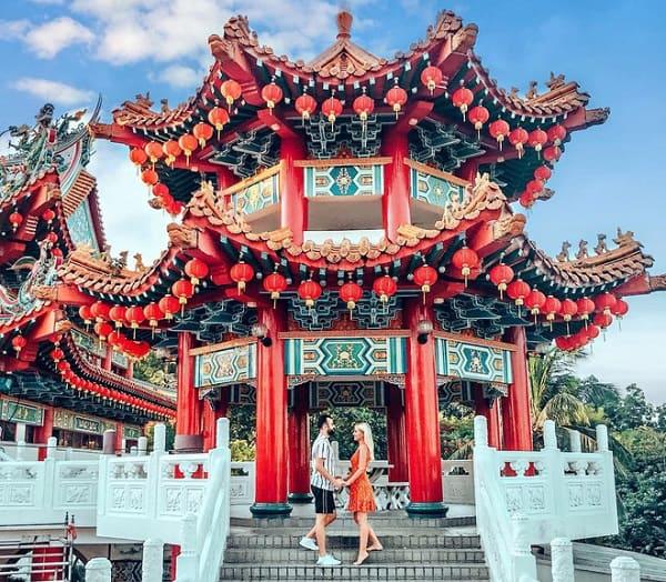 Địa điểm chụp hình đẹp ở Kuala Lumpur, Chùa Thiên Hậu