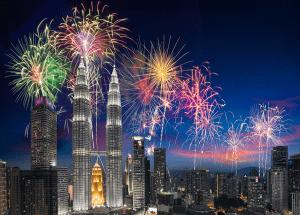 Những địa điểm đón giao thừa đẹp ở Kuala Lumpur