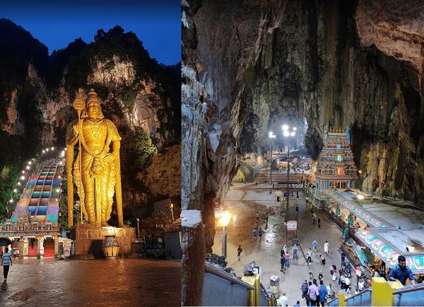 Địa điểm du lịch gần Kuala Lumpur đẹp và thú vị. Nên đi dâu chơi ở Kuala Lumpur? Hang động Batu Caves