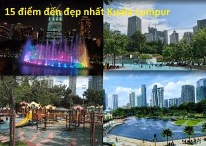 Địa điểm du lịch giá rẻ ở Kuala Lumpur. Chơi gì ở Kuala Lumpur? Công viên KLCC Park