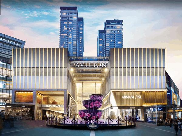 Địa điểm du lịch ở Kuala Lumpur nổi tiếng. Nên đi đâu chơi ở Kuala Lumpur? Trung tâm mua sắm Pavilion
