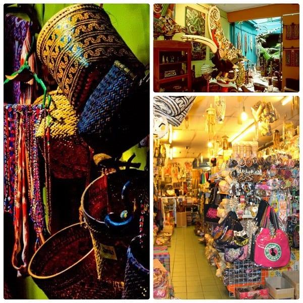 Chợ Main Bazaar - nơi tham quan, mua sắm lớn ở Kuching