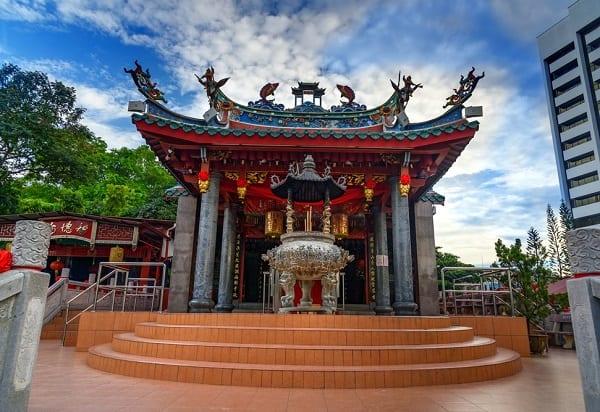Đền Tua Pek Kong - địa điểm tham quan lâu đời và đặc sắc nhất ở Kuching