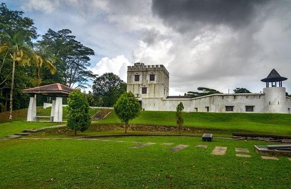 Pháo đài Margherita - địa điểm tham quan miễn phí ở Kuching