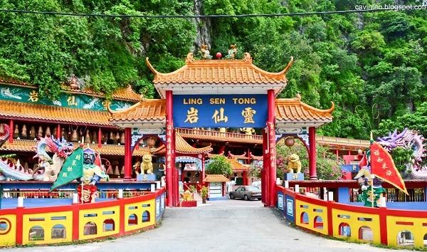 Đền Ling Sen Tong - điểm tham quan ở Ipoh miễn phí