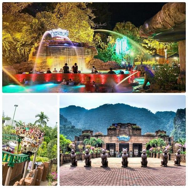 Công viên giải trí Lost World of Tambun - địa điểm vui chơi ở Iphoh dành cho cả gia đình