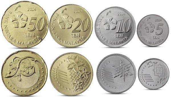 Đổi tiền Malaysia ở đâu? Mệnh giá tiền xu Malaysia