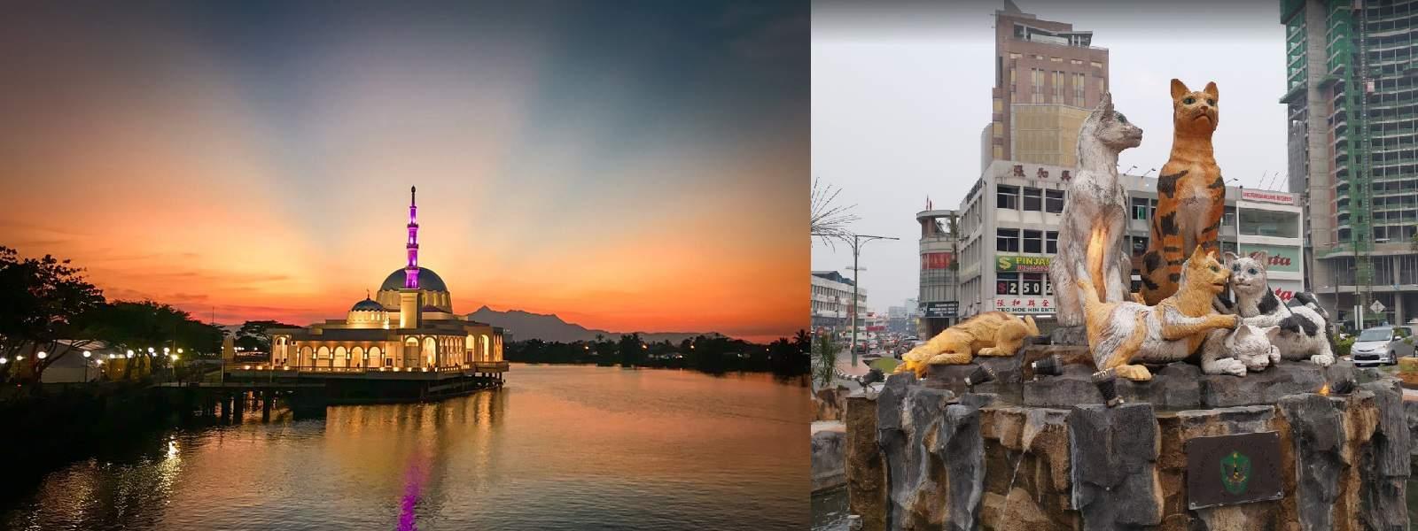 Du lịch Kuching Sarawak Malaysia