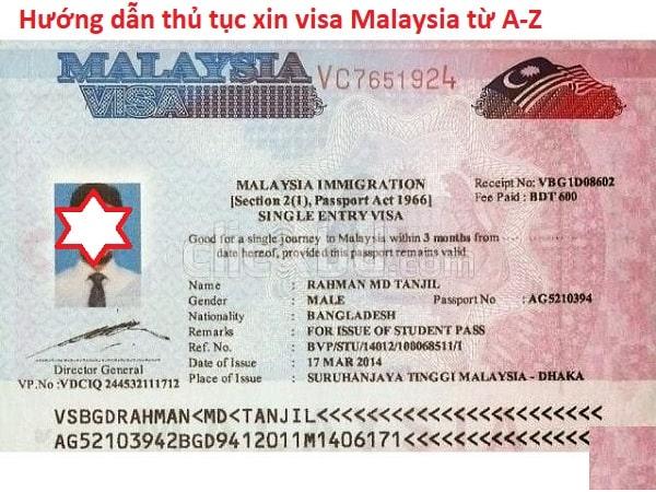Hướng dẫn thủ tục xin visa Malaysia chi tiết. Xin visa Malaysia ở đâu, lệ phí bao nhiêu, hồ sơ gì?