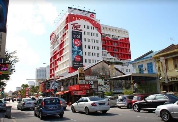 Khách sạn ở Penang Malaysia. Nhà nghỉ tốt ở Penang. Tune Hotel Georgetown Penang