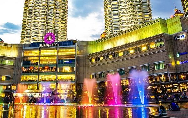 Suria KLCC - trung tâm mua sắm nổi tiếng ở Kuala Lumpur City Centre
