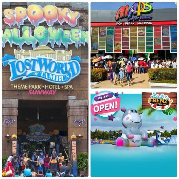 Kinh nghiệm du lịch Ipoh Malaysia nên chơi ở đâu: Các khu vui chơi giải trí ở Ipoh