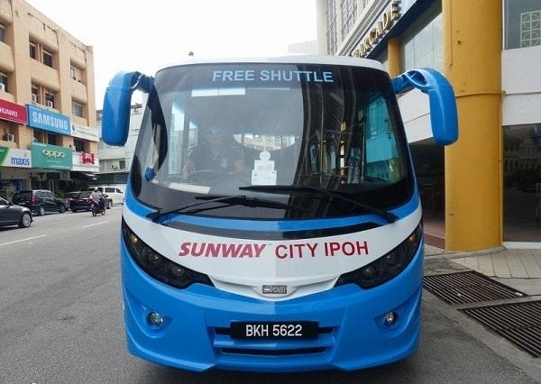 Kinh nghiệm du lịch Ipoh nên đi bằng phương tiện gì: Xe bus là phương tiện di chuyển thuận tiện nhất ở Ipoh, Malaysia