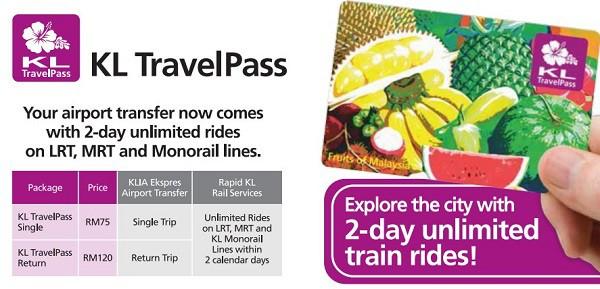 Kinh nghiệm du lịch Kuala Lumpur, mua thẻ KL TravelPass để tiện đi lại