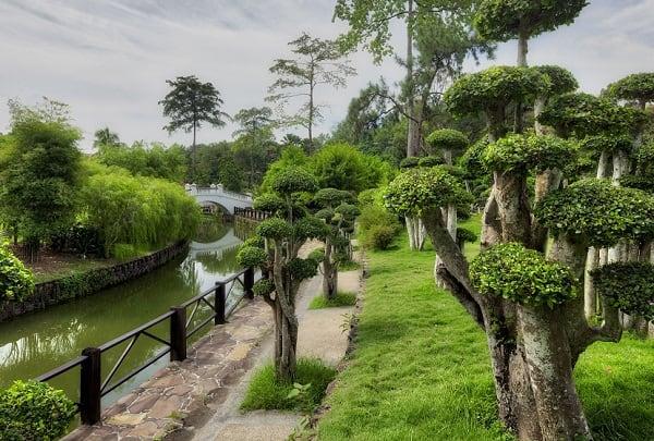 Kinh nghiệm du lịch Kuala Lumpur, check in ở vườn bách thảo Perdana Botanical Garden