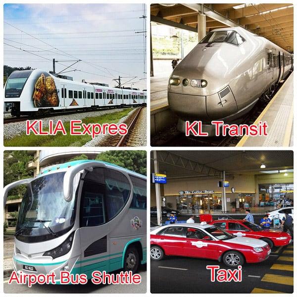 Kinh nghiệm du lịch Kuala Lumpur, hướng dẫn di chuyển từ KLIA vào Kuala Lumpur