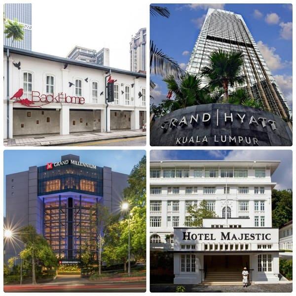 Kinh nghiệm du lịch Kuala Lumpur, đặt phòng khách sạn ở Kuala Lumpur