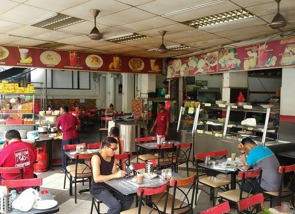 Kinh nghiệm du lịch Kuala Lumpur, Tg's Nasi Kandar là nhà hàng ngon giá rẻ