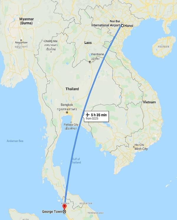 Kinh nghiệm du lịch Penang Malaysia. Du lịch Penang tiết kiệm chi phí
