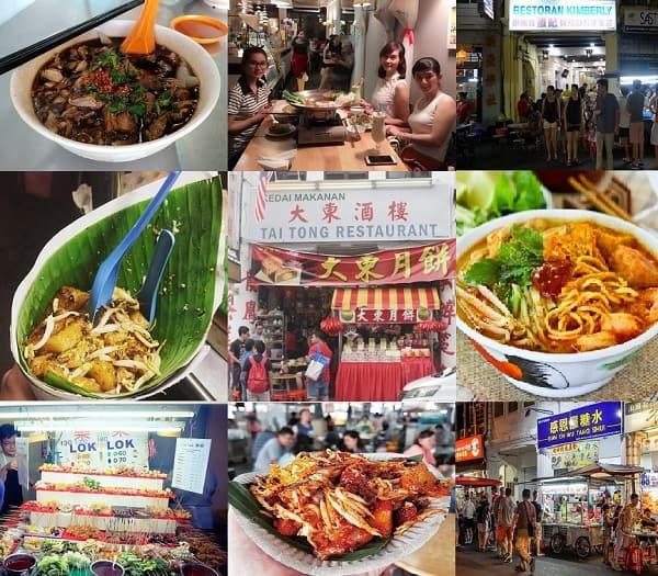 Nên ăn uống ở đâu ngon khi du lịch Penang? Kinh nghiệm du lịch Penang Malaysia