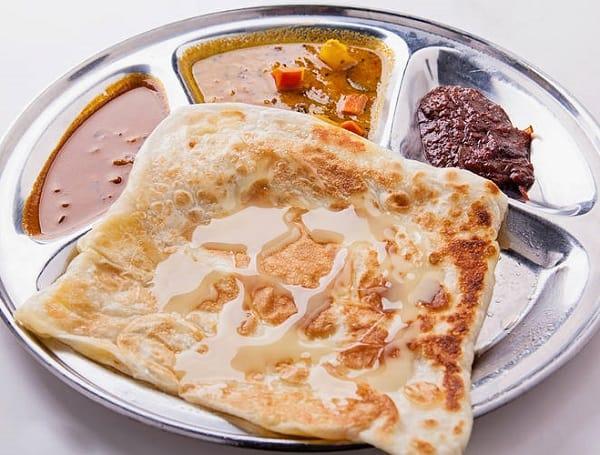Ăn gì ở Kuala Lumpur buổi sáng, Roti Canai món ăn ngon Kuala Lumpur