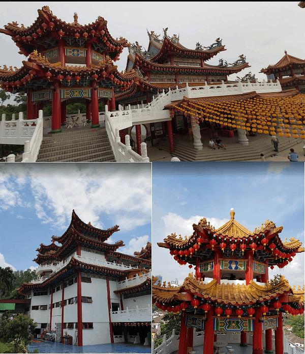 Nên đi đâu chơi gì ở Kuala Lumpur? Địa điểm tham quan, check in đẹp ở Kuala Lumpur. Chùa Thiên Hậu Thean Hou Temple