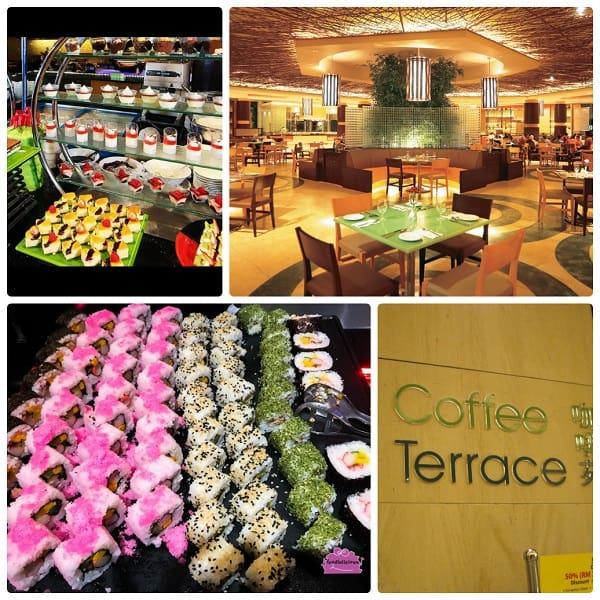 Coffee Terrace - nhà hàng buffet ở Genting đẹp, nổi tiếng