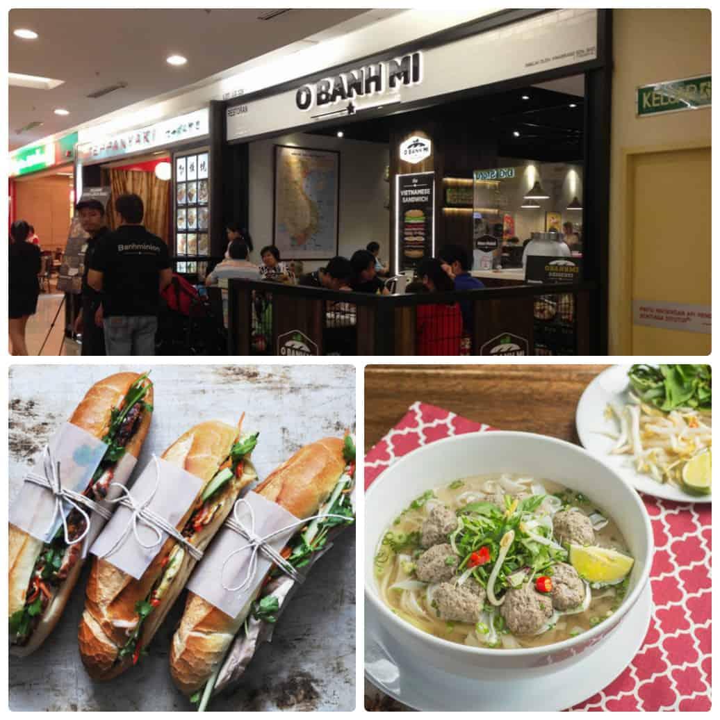Quán ăn Việt Nam ở Kuala Lumpur, O Banh Mi là quán bánh mì Việt Nam ở Kuala Lumpur