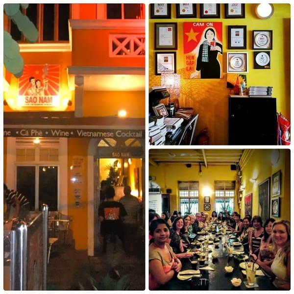 Sao Nam là nhà hàng Việt Nam ở Kuala Lumpur ngon nhất