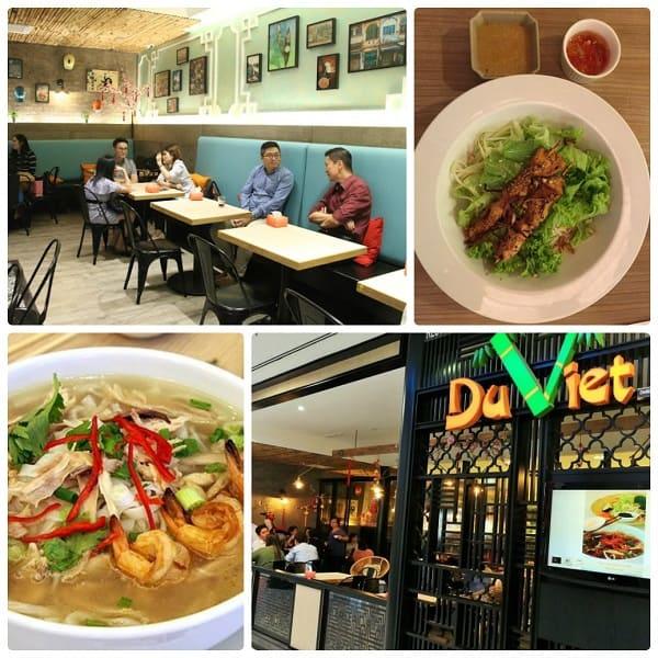 Quán ăn Việt Nam ở Kuala Lumpur, nhà hàng Du Việt có không gian sang trọng