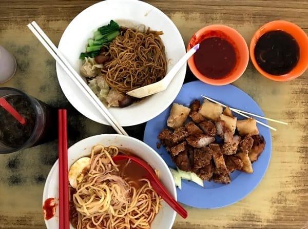 Quán ăn ở Penang Malaysia ngon, giá rẻ. Quán Café Ping Hooi. Quán ăn nổi tiếng ở Penang