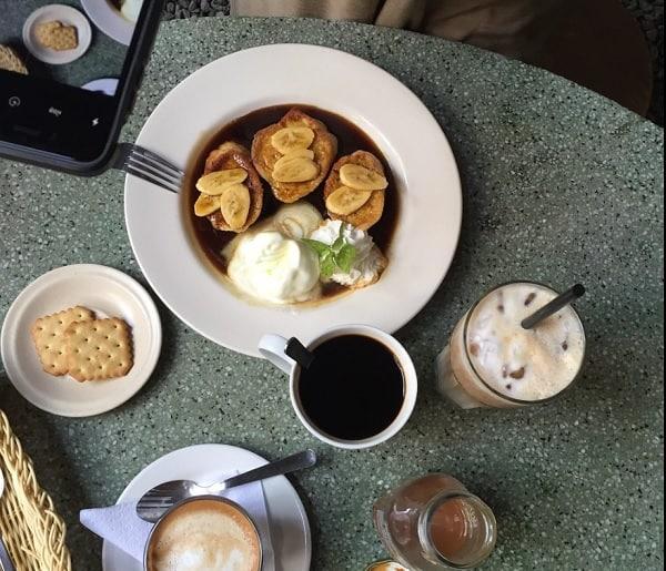 Quán cafe ở Malacca. Quán cà phê ở Malacca nhất định phải ghé thăm. Calanthe Art Cafe