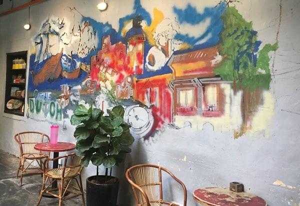 Quán cafe ở Malacca. danh sách các quán cà phê đẹp, nổi tiếng nhất ở Malacca. Kaya Kaya Cafe