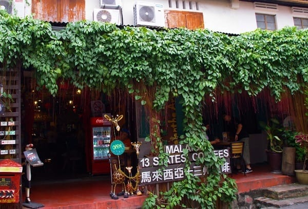 Quán cafe ở Malacca. Top những quán cafe đẹp ở Malacca. Calanthe Art Cafe